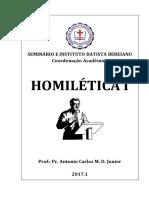 Apostila Homilética 1 - Alunos