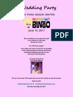 Get married at Rainbow Bingo