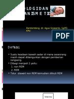 Fisiologi Dan Mekanisme Tidur Ppt