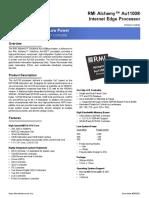 Amd Au1100 400mbd Bf Datasheet