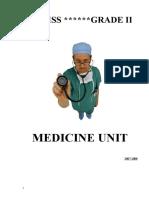 Medicine Unit New 2008