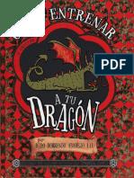 Cressida Cowell Como Entrenar a Tu Dragon 01 Como Entrenar a Tu Dragon
