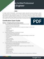 Google Certified Professional Data Engineer