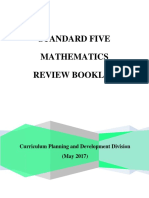 Standard Five Mathematics Review Booklet _ FINAL DRAFT _ May 2017 (1)