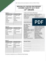 12th grade registration sheet sy2017-2018