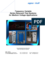 Frequency Variable Series Resonant Test Systems for Medium Voltage Aplications