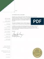 SEIU's Emergency Trusteeship Order over SEIU Nevada