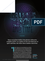 The origins of space and time.pdf