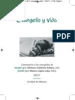 Evangelio y Vida - Mayo - Junio 2017