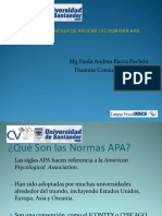 AYC Informacion Normas APA