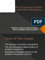 Chapter 14 Consumer Decision Process and Problem Recognition.pptx
