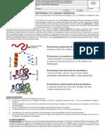 Las Proteinas y El Codigo Genetico