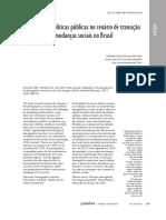 Interface-Políticas Públicas Transição Demográfica Mudanças Sociais 2017 EdJI