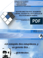 presentacion gestion directiva