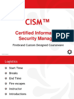 Cism Domain 1 Information Security Governance