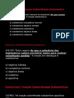 Exercicios Oracao Subordiada Substantiva (1)