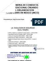 Modificacion de Conducta Organizacional
