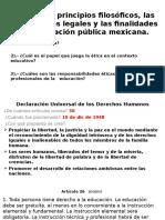Fundamentos Filosóficos, Legales y Éticos.