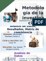 Metologia de La Investigación Matriz