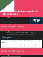 Distribuc de Frecuencias e Histogramas
