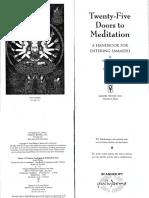 Bodri Twenty Five Doors to Meditation