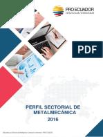 Perfil de Metalmecánica