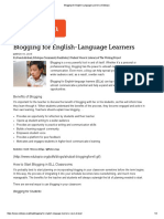 blogging for english-language learners   edutopia