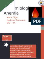 Epidemiologi - Epidemiologi Anemia