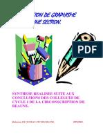 GRAPHISME Progression Graphisme MS 2004 Ac. Dijon