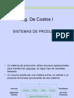 Ing.costos I - Sistemas de Produccion