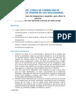 Contenidos y Objetivos Del Nivel i Expertos