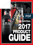 Max Muscle 2017 Product Catalog