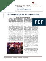 Len_2_Guía 5_CL- Las Ventajas de Ser Invisble.