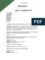 Camoletti Marc Pijamas
