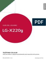 LF X220g Manual