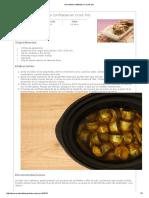 Alcachofas Confitadas en Crock Pot