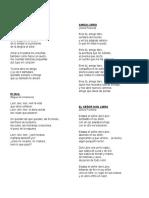 Poemas Al Libro , Dia Del Libro