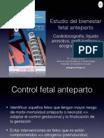 3.Pruebas Bienestar Fetal Anteparto Bilbao 2015
