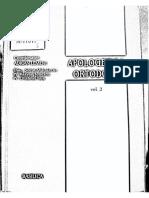 Apologetica Ortodoxă. Vol. 2