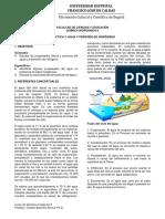 Practica 3 - Agua y Peroxido de Hidrogeno