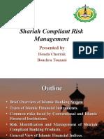 Shariah Compliant Risk Management
