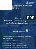 Lecture 6 Industrial Democracy Negotiation and Bargaining