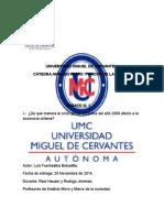 Trabajo Ensayo Analisis Micro y Macro en La Sociedad