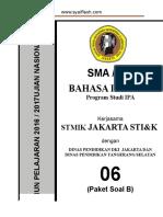 Pra Ujian Nasional Bahasa Inggris Sma Kode b (06)