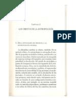 16 MAugé & JPColleyn... Los Objetos de La Antropología
