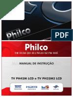 Manual TV Philco PH42M
