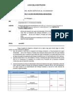 Propuesta de Informe Para Reconocimiento de Logros Ambientales 2016