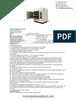 Info Esterilizador 3681r