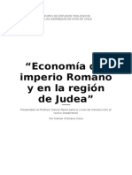 Economía Del Imperio Romano y en La Región de Judea