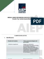 Presentacion Modulo Bases Psiconeurologicas Del Aprendizaje